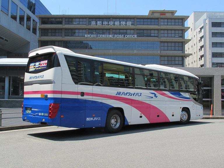 [2018年の夏][京都市] 西日本JRバス (高速バス) Img_1058