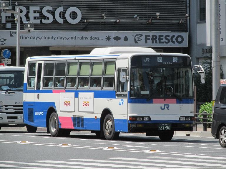 [2018年の夏][京都市] 西日本JRバス Img_1284