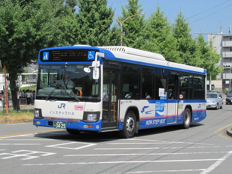 [2018年の夏][京都市] 西日本JRバス Img_1286