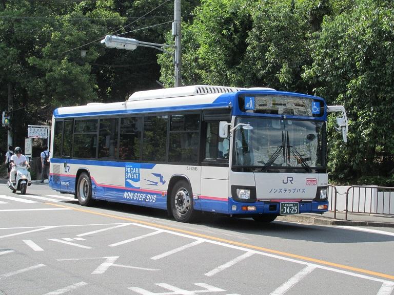 [2018年の夏][京都市] 西日本JRバス Img_1346