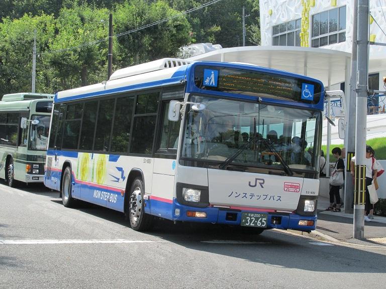 [2018年の夏][京都市] 西日本JRバス Img_1348