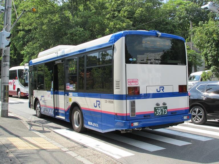 [2018年の夏][京都市] 西日本JRバス Img_1350