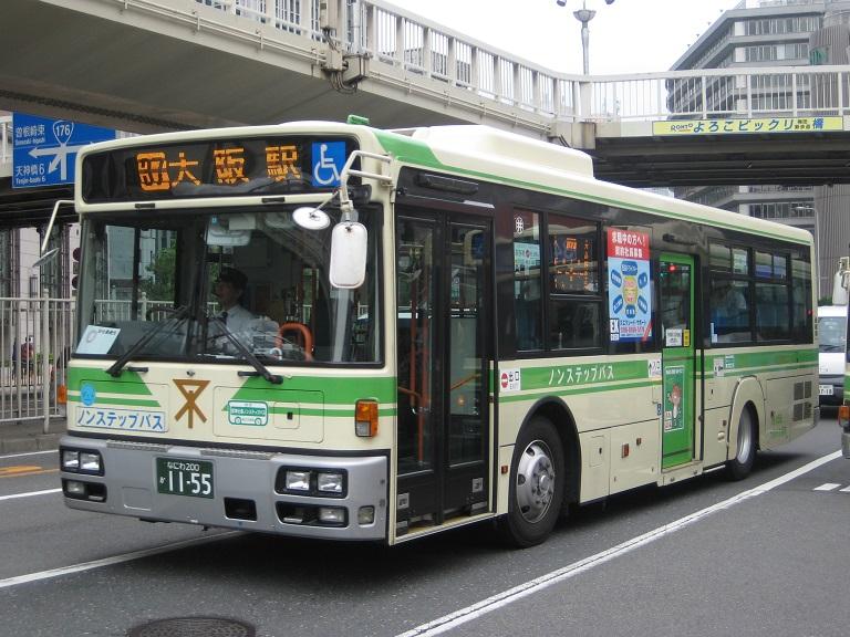[2014年の夏][大阪市] 大阪市バス Img_3715