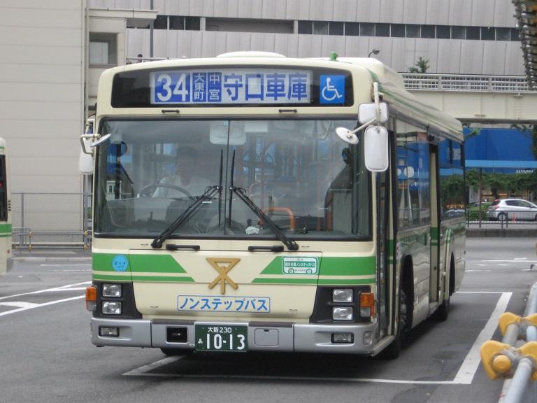[2014年の夏][大阪市] 大阪市バス Img_3817
