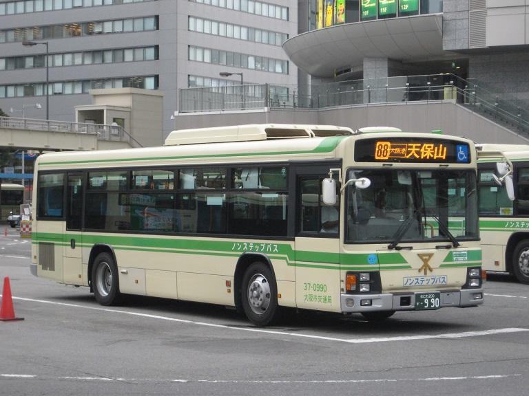 [2014年の夏][大阪市] 大阪市バス Img_3819