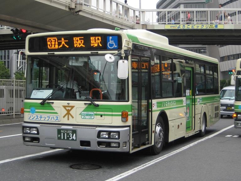 [2014年の夏][大阪市] 大阪市バス Img_3829