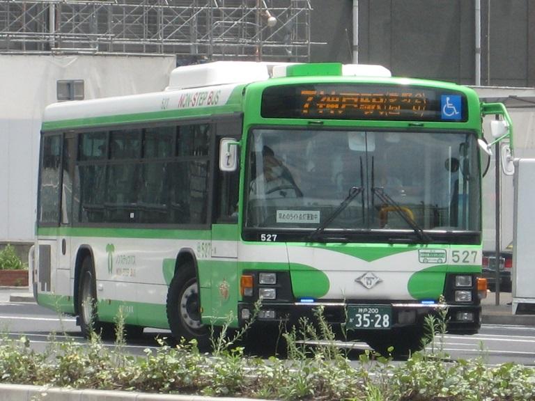 [2014年の夏][神戸市] 神戸市バス Img_5313