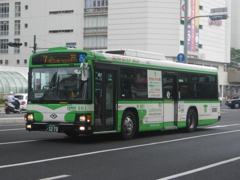 [2014年の夏][神戸市] 神戸市バス Img_5411