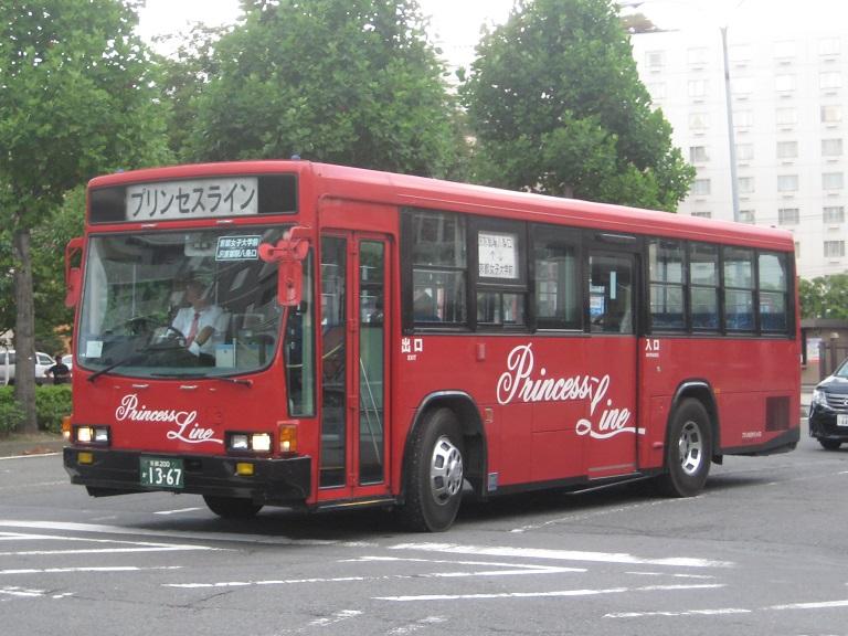 [2014年の夏][京都市] 京都急行バス Img_6115