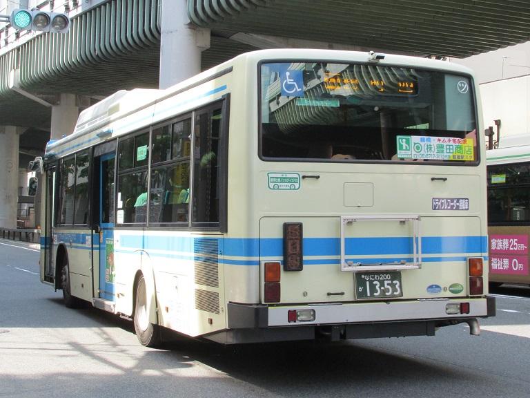 [2016年の夏][大阪市] 大阪市バス Img_8214
