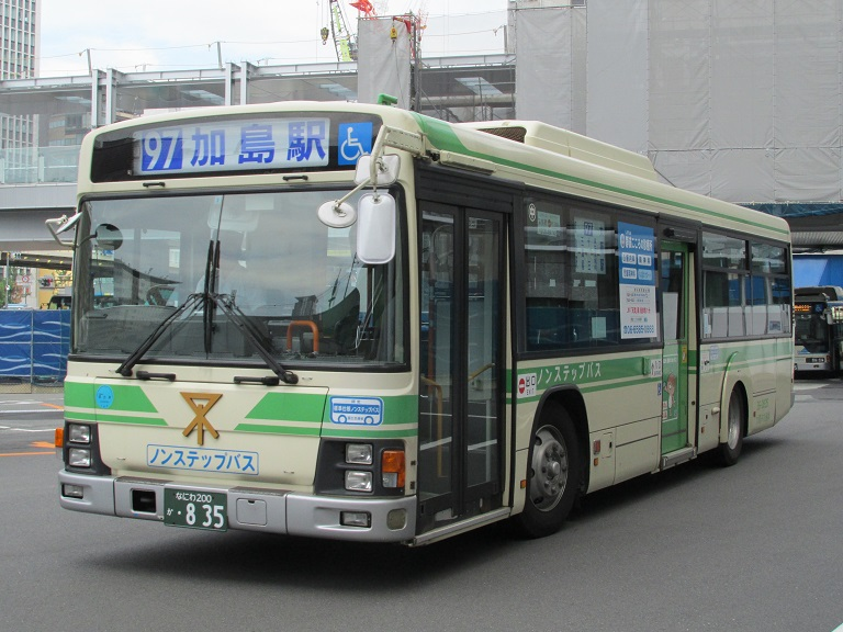 [2016年の夏][大阪市] 大阪市バス Img_8342