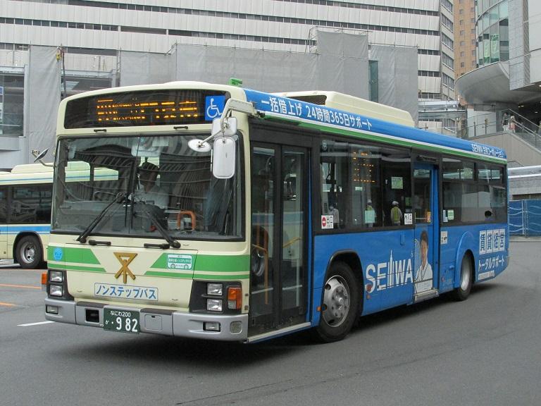 [2016年の夏][大阪市] 大阪市バス Img_8411