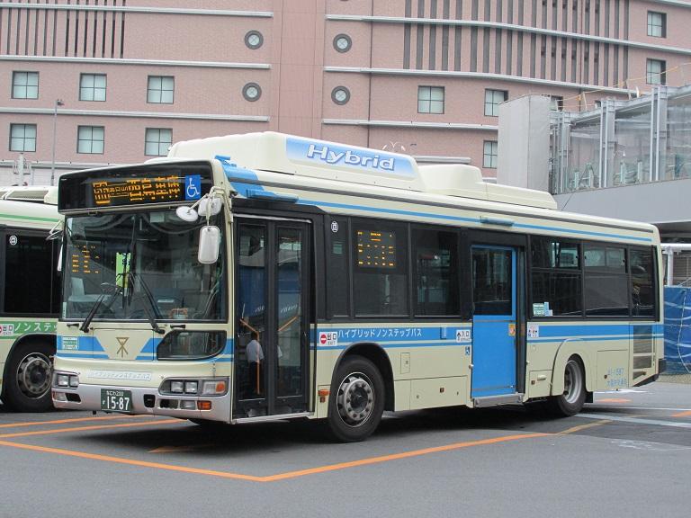 [2016年の夏][大阪市] 大阪市バス Img_8415