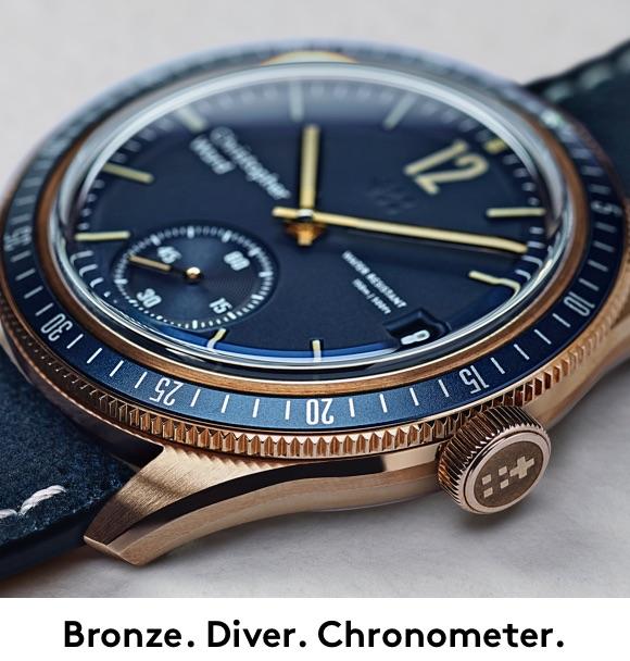 Nuevo bronce de Christopher Ward 30ef6710