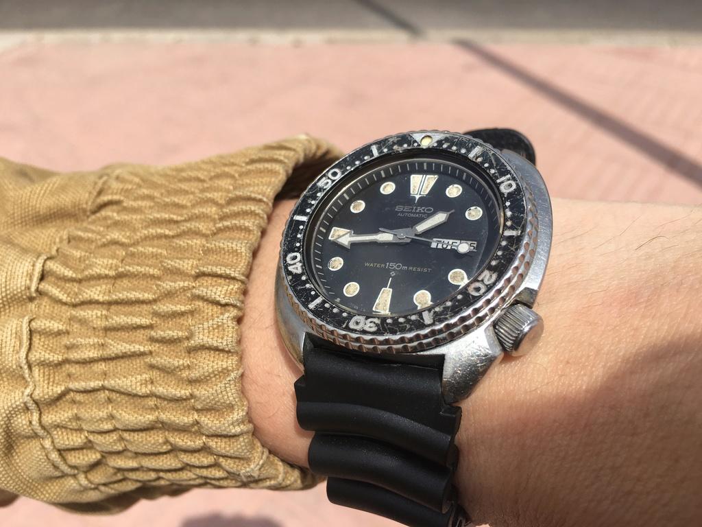 Seiko Tortugas New vs Vintage  Img_6010