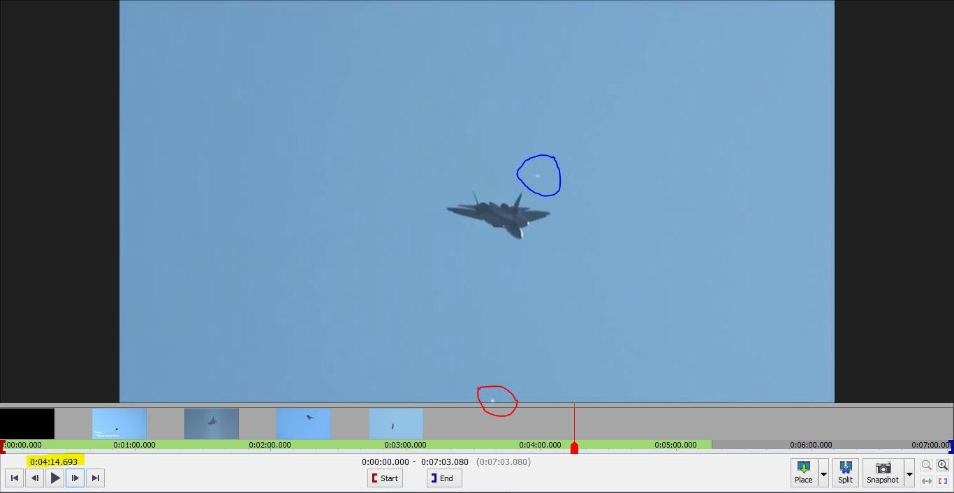 MAKS 2019  Su 57 y Foofighter! Dos_in11