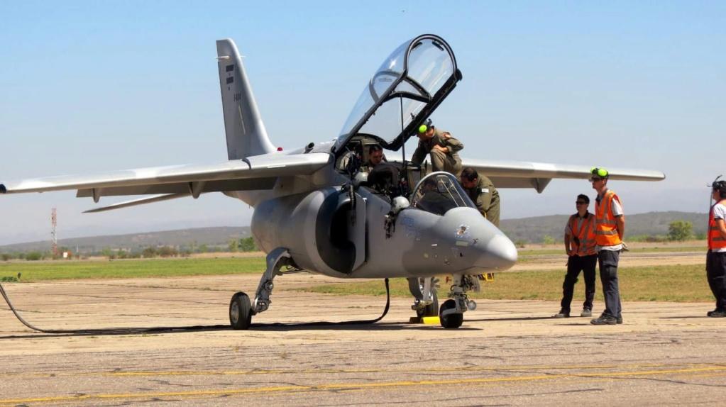 Primer vuelo funcional del avión Pampa III - E 824 Whatsa12