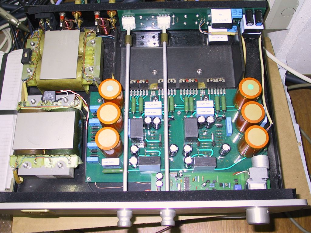 Amplificadores integrados con doble trafo Yba_in10