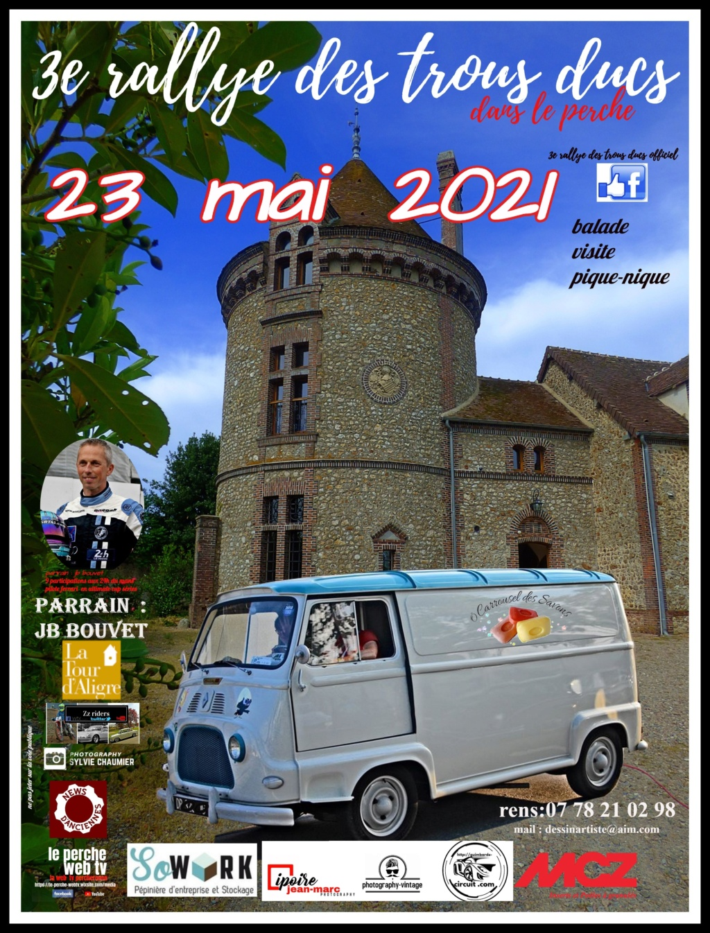 3e Rallye des Trous Ducs dans le Perche   23  mai  2021   21012110