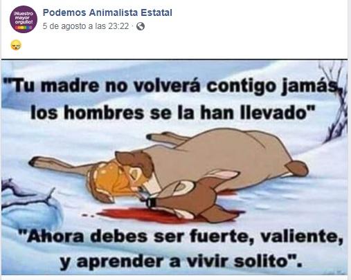 La estupidez de la izquierda no tiene límites.  Podemo12