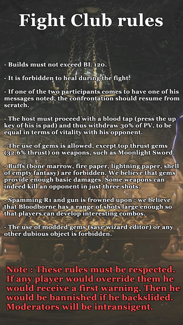 Communauté PvP [The Moonlight Legacy Fight Club] Rules12