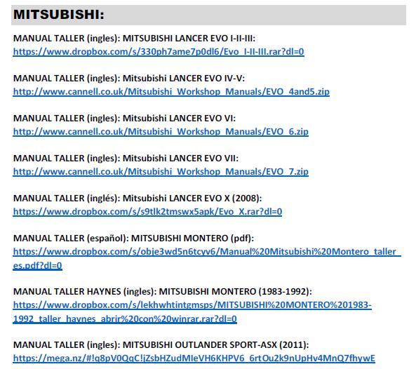 GRUPO MANUALES TALLER-USUARIO PDF: MITSUBISHI-SUBARU-SUZUKI (pdf) Captur11