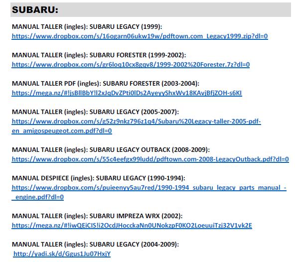 GRUPO MANUALES TALLER-USUARIO PDF: MITSUBISHI-SUBARU-SUZUKI (pdf) Captur12