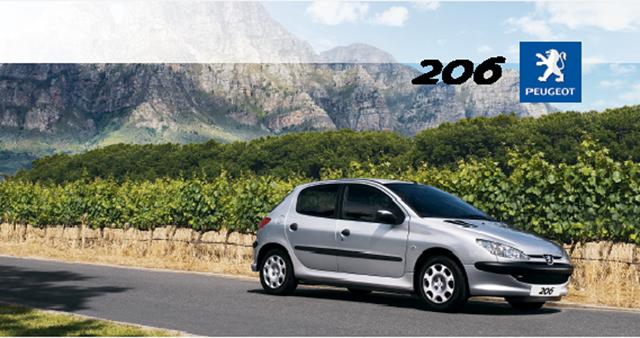 MANUAL USUARIO PDF (español): PEUGEOT 206 (2008-2009) P206a10