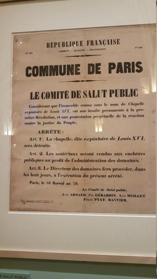 """Exposition """"Marie-Antoinette : métamorphoses d'une image"""" à la Conciergerie 20191018"""