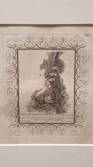 """Exposition """"Marie-Antoinette : métamorphoses d'une image"""" à la Conciergerie 20191024"""