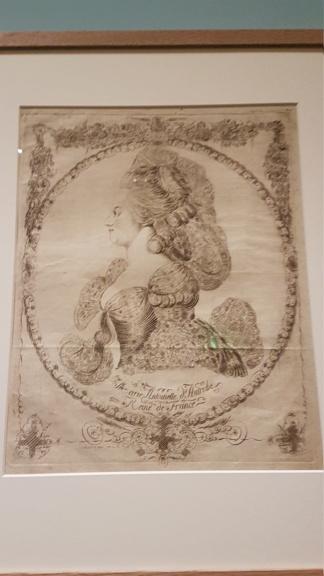 """Exposition """"Marie-Antoinette : métamorphoses d'une image"""" à la Conciergerie 20191025"""