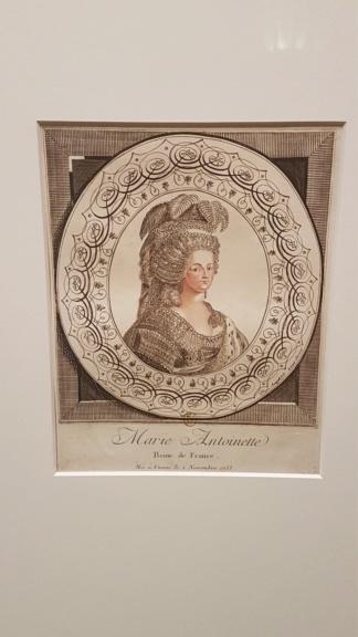 """Exposition """"Marie-Antoinette : métamorphoses d'une image"""" à la Conciergerie 20191026"""