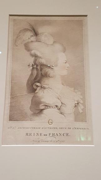 """Exposition """"Marie-Antoinette : métamorphoses d'une image"""" à la Conciergerie 20191027"""