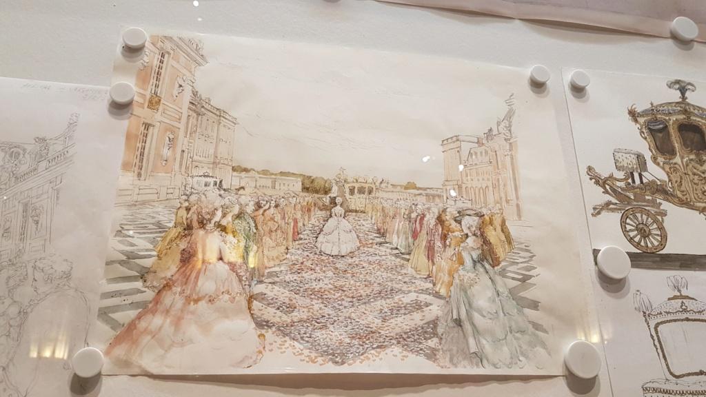 """Exposition """"Marie-Antoinette : métamorphoses d'une image"""" à la Conciergerie 20191037"""