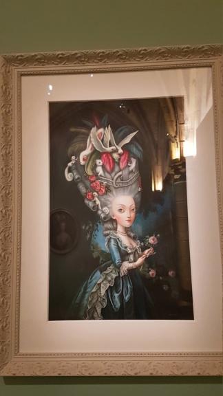 """Exposition """"Marie-Antoinette : métamorphoses d'une image"""" à la Conciergerie 20191052"""