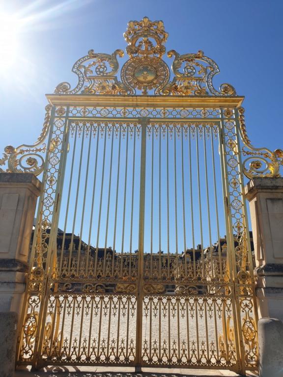Ma visite du château de Versailles  20200716