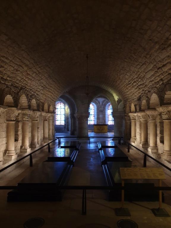 Notre couple royal préféré à la Basilique Saint Denis 20200755