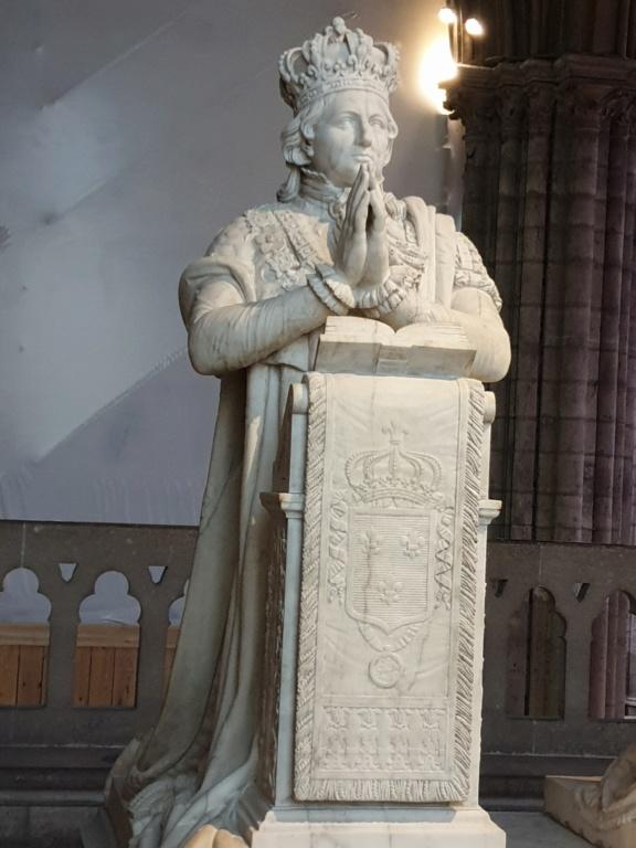 Notre couple royal préféré à la Basilique Saint Denis 20200756