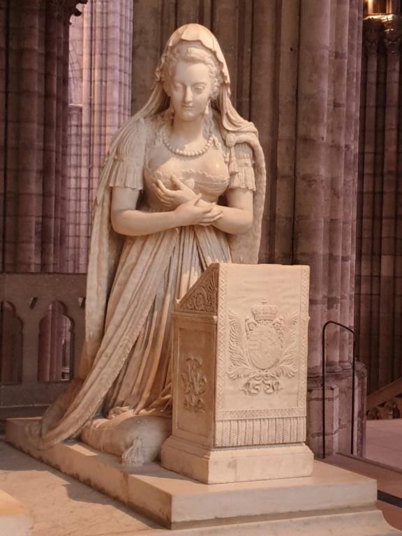 Notre couple royal préféré à la Basilique Saint Denis 20200757
