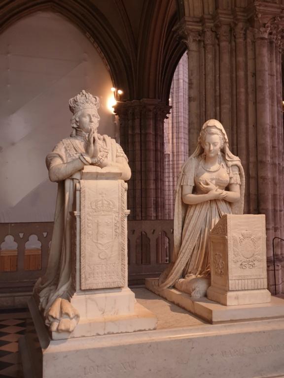 Notre couple royal préféré à la Basilique Saint Denis 20200758