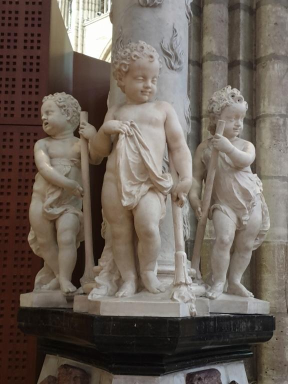 Notre couple royal préféré à la Basilique Saint Denis 20200762