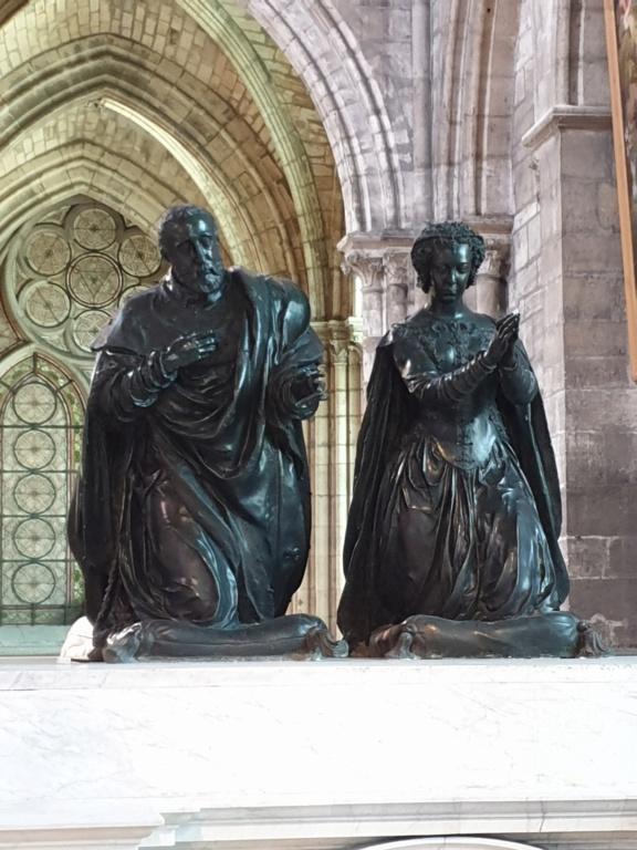 Notre couple royal préféré à la Basilique Saint Denis 20200765