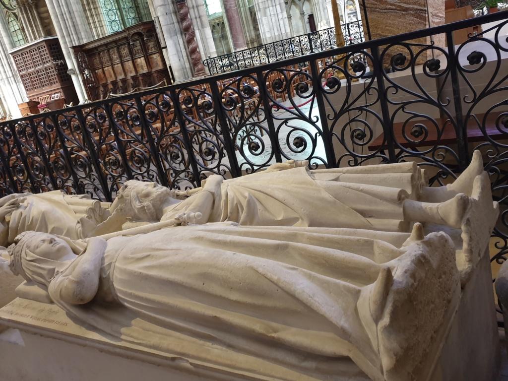 Notre couple royal préféré à la Basilique Saint Denis 20200769