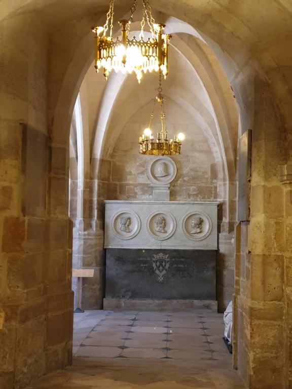 Notre couple royal préféré à la Basilique Saint Denis 20200772