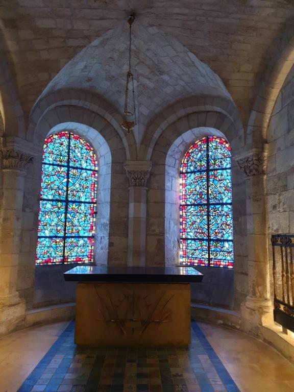 Notre couple royal préféré à la Basilique Saint Denis 20200774