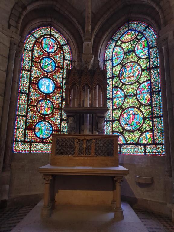Notre couple royal préféré à la Basilique Saint Denis 20200775