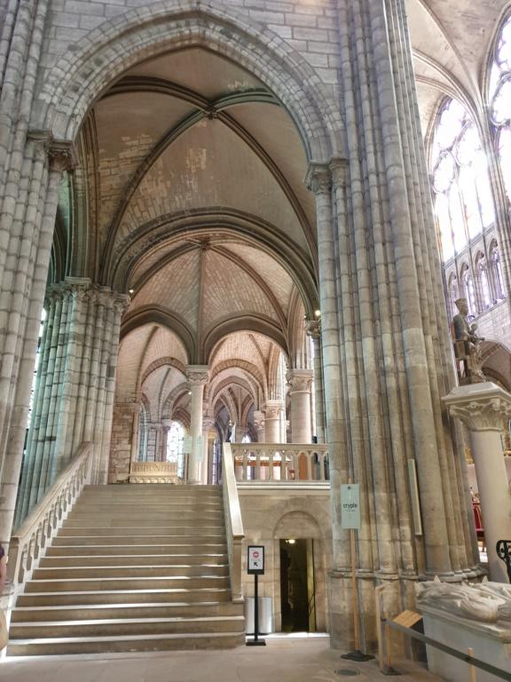 Notre couple royal préféré à la Basilique Saint Denis 20200779