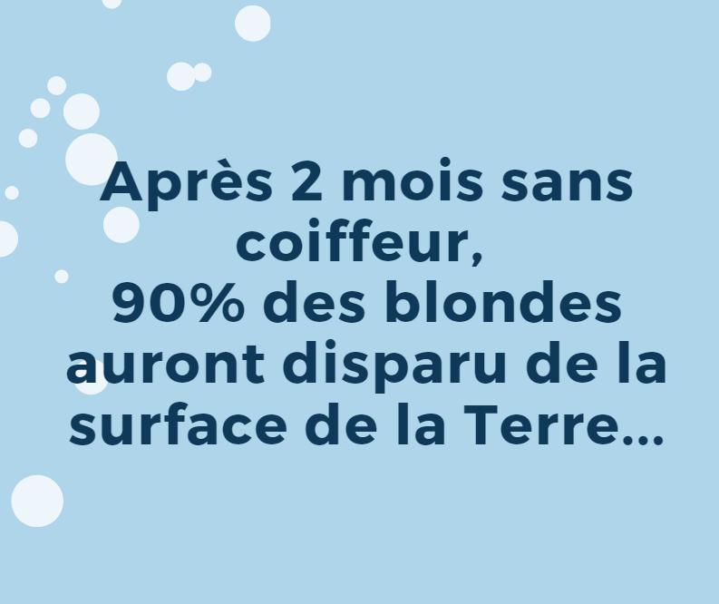 Les meilleurs blagues/montages/meme sur le COVID Blonde10