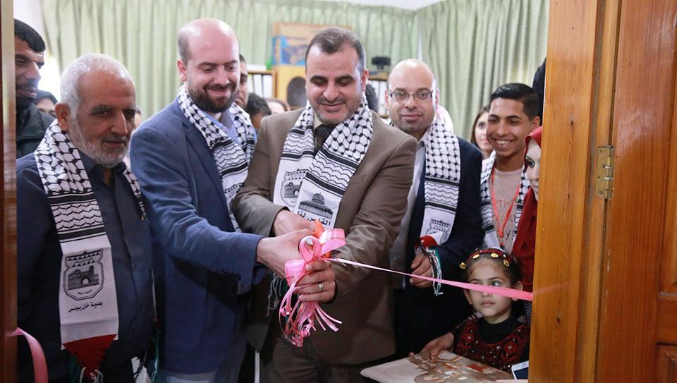 افتتاح مكتبة الطفل بخان يونس 20181110.jpg