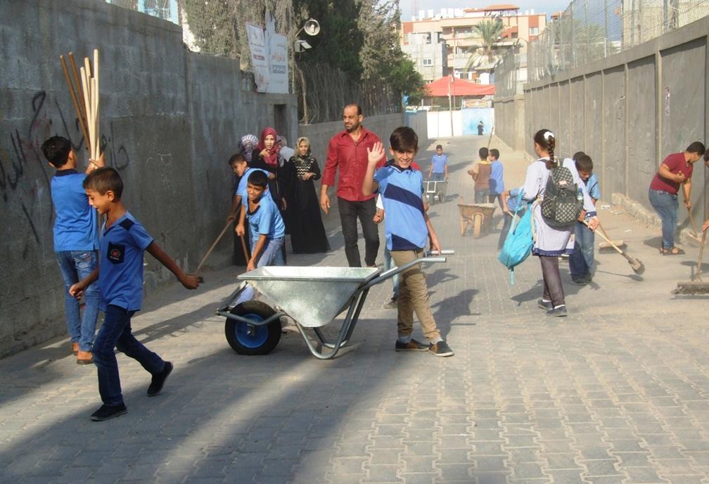 انطلاق فعاليات تطوعي لتنظيف شوارع dscf2514.jpg